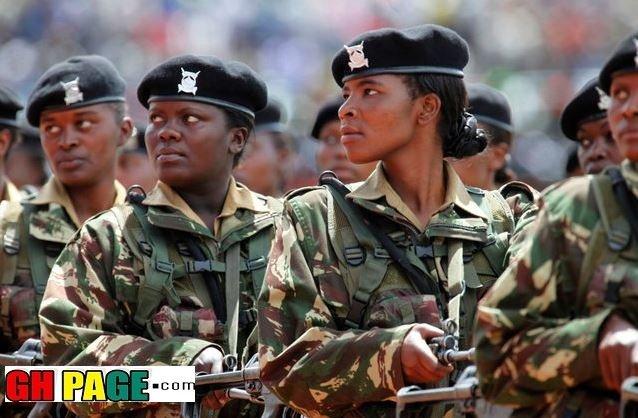Ghanaian Military Women Cry Out To Ghanaian Men