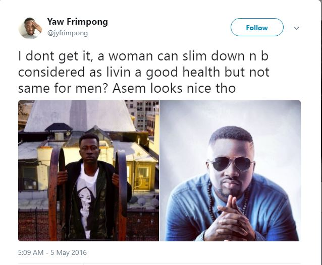 Hopes Get High As Musician Asem Begins To Build New Body Form