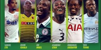 Top 10 Best Paid African Footballers In The World Currently