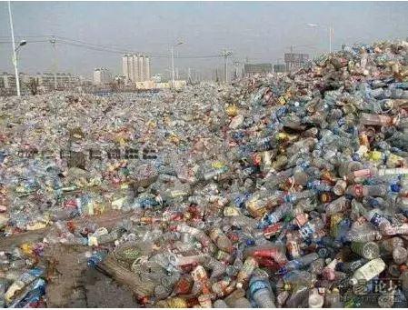 Men Build Houses With An Empty Plastic Bottles