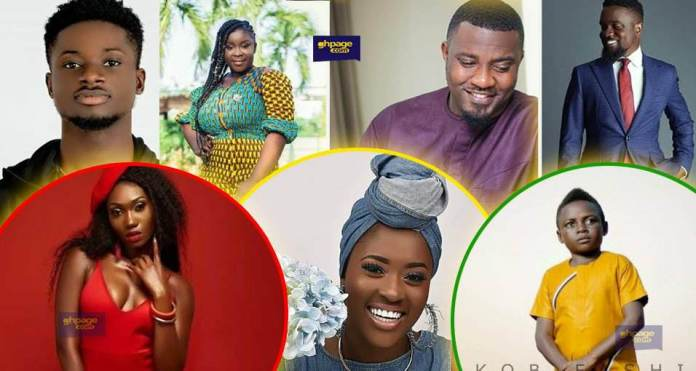 12 Ghanaian celebrities who look way older than their real age (Photos)