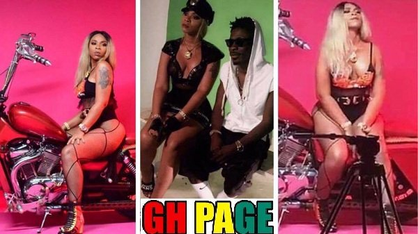 Damn! Shatta Wale's Baby Mama, Michy Puts Her Asserts On Display [Photos+Video]