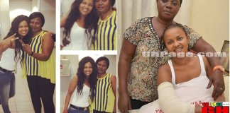 Nana Ama McBrown mother Cecilia Agyenim Boateng