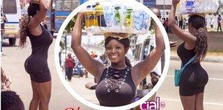 Beautiful Ghanaian Pure water seller Nina Richie