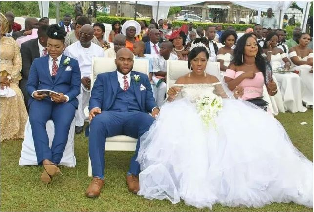 Female Best Man Wedding