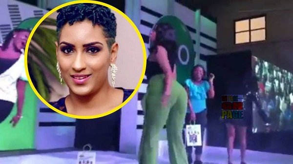 Video - Juliet Ibrahim as an MC competed with dance competitors at a Glo event and it got everyone talking