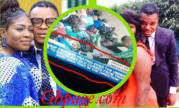 Bishop Obinim breaks ancestral curses using old underwear's (Video)