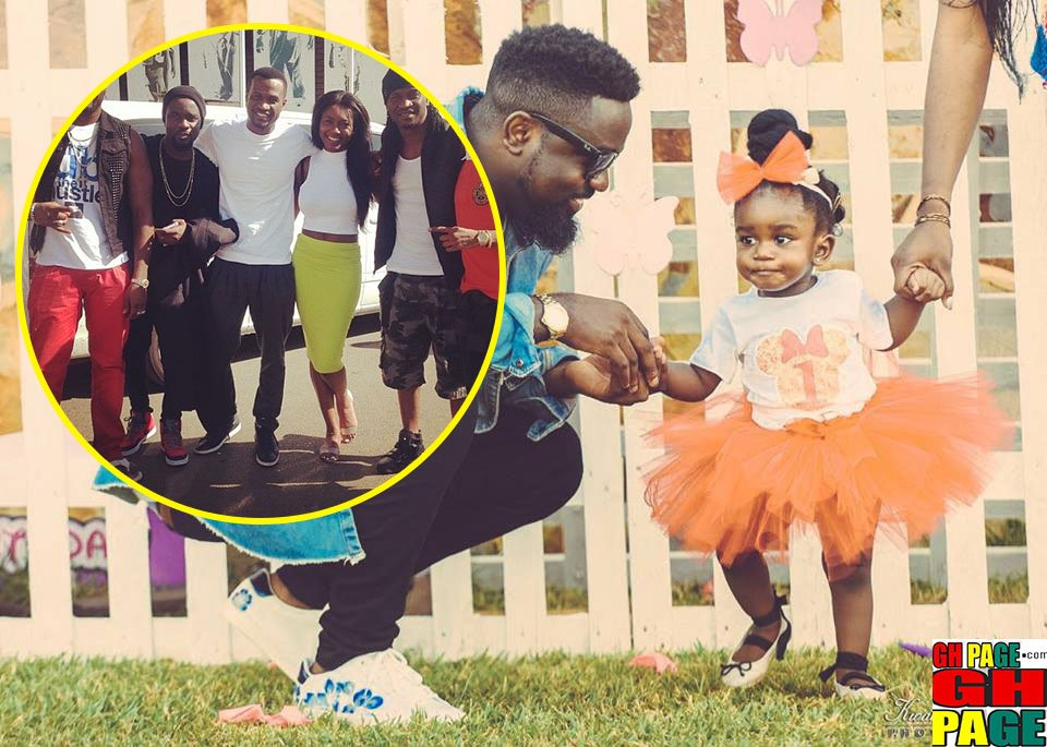 Photos: Many Times Sarkodie, Tracy & Titi Were Our Relationship Goals