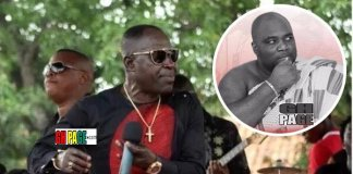 Video: Amakye Dede amazing live band performance at KABA's funeral
