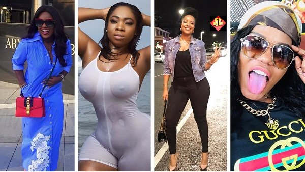 Photos of Ghanaian celebrities slaying on Instagram