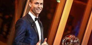 Real Madrid star Cristiano Ronaldo wins 2017 Ballon d'Or