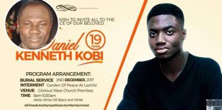 Gone Too Soon: Prophet Emmanuel Badu Kobi Loses 19-Year-Old Son (Photo)