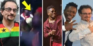 Jon Benjamin Fires Shatta Wale Over Slapping A Body Guard On Stage