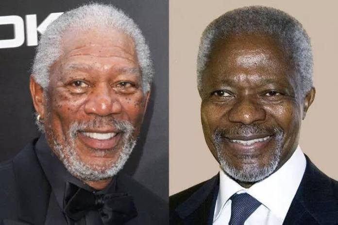 Kofi Annan's look-alike
