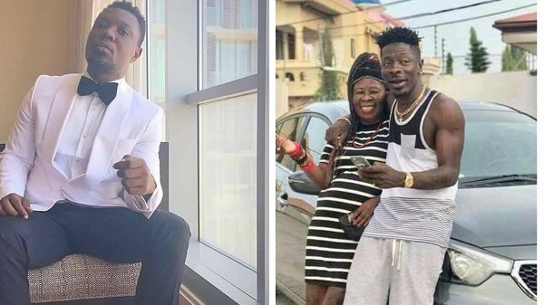 """""""Shatta Wale's mum looks like his father wearing a wig"""