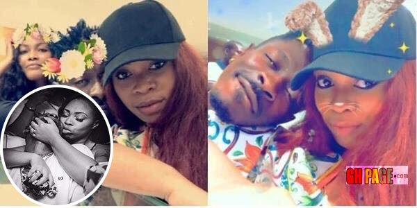 Shatta Michy denies being thrown out of Shatta Wale's house with a facebook post