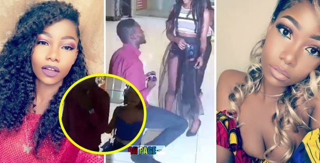 Video: The lady who Publicly turned down her boyfriend's proposal in the viral video speaks