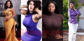Ghanaian celebrities with the hottest, sexiest & banging bodies -#1 is a goddess of beauty [Photos]