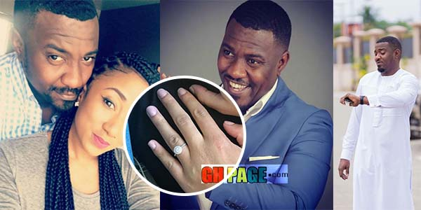 Photos: John Dumelo set to marry as he engages longtime fiance