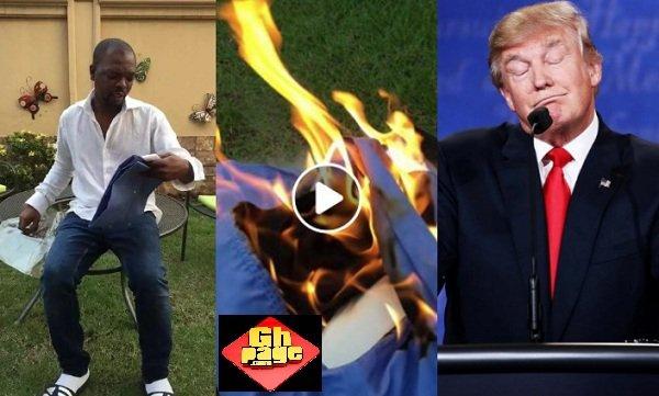 Video: KOD Burns Shirt From Donald Trump's Signature Collection