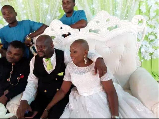 "Bride Got Honored For Having A ""Sakora"" Haircut During Her Wedding"