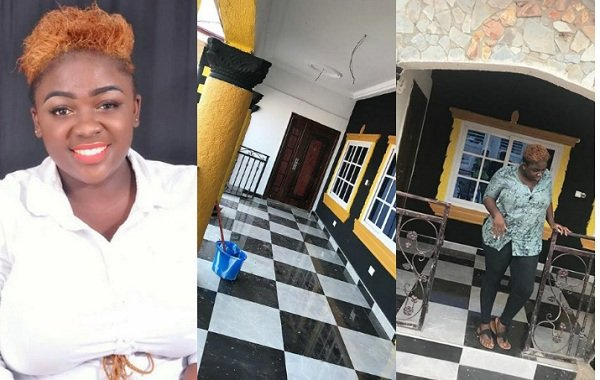Checkout The Stunning Photos Of Tracy Boakye's Newly Built House And She Made It Wow With The Colors