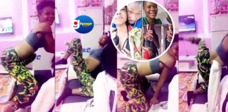 You remember that facebook Nurse, Trudy Ewurama? She's demonstrating the Sex Position to Use to get yourself an iPhone (Video)