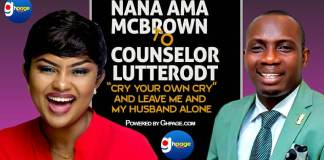 "Video: ""Cry Your Own Cry And Leave Me And My Husband Alone"" - Nana Ama Mcbrown Fires Counselor Lutterodt"