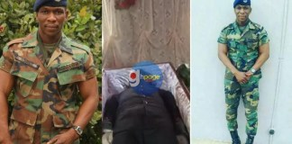 Video+Photos: Tears flow as Ebony's bodyguard, Francis Atsu Vondee is laid in state