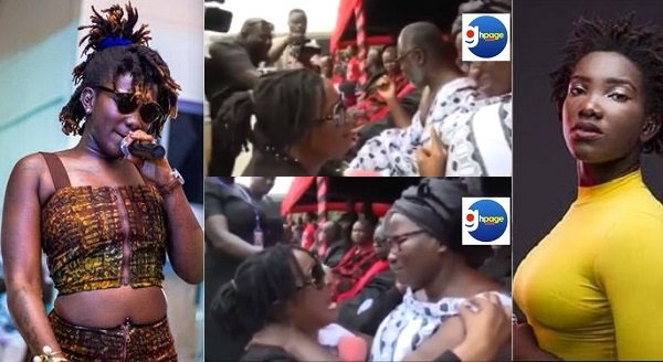 New Video Allegedly Showing Ebony Reigns' Spirit Possessing Young Lady Generates Debate On Social Media