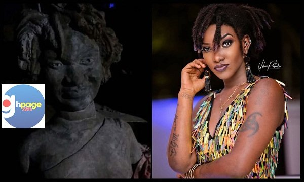 Photos: A Horrible Statue Of Late Ebony Reigns Pops Up On Social Media