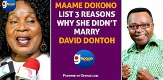 Maama Dokono Lists 3 Main Reasons Why She Didn't Marry David Dontoh