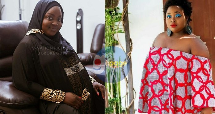 Photos: Actress Roselyn Ngissah is heavily pregnant after her marriage kept delaying