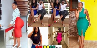 """""""Big B00bs And Bum Is A Family Thing"""" - YOLO Actress Serwaa Opoku Addo Claims As She Poses With Her Heavily Endowed Sister (PHOTOS)"""