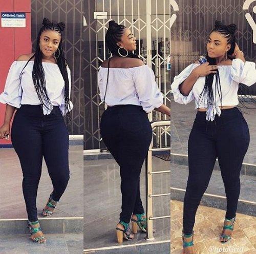 Yaw Dabo's 'girlfriend' Vivian Okyere stuns social media as she dazzles in latest photos