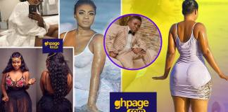 Yaw Dabo's 'girlfriend' Vivian Okyere stuns social media as she dazzles in latest photos