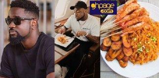 Jollof War: Sarkodie challenges Davido to a jollof rice cooking competition, he responds