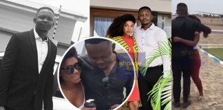 Stonebwoy's manager Blakk Cedi and Becca Spice Up Their Love At The Airport(Video)