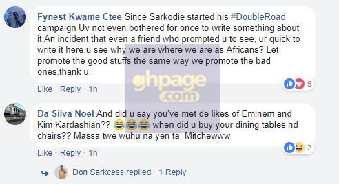 [Screenshots] Blogger Calls Sarkodie An 'Illiterate Arrogant Douchebag' And Hell Is Already Breaking Loose On Social Media