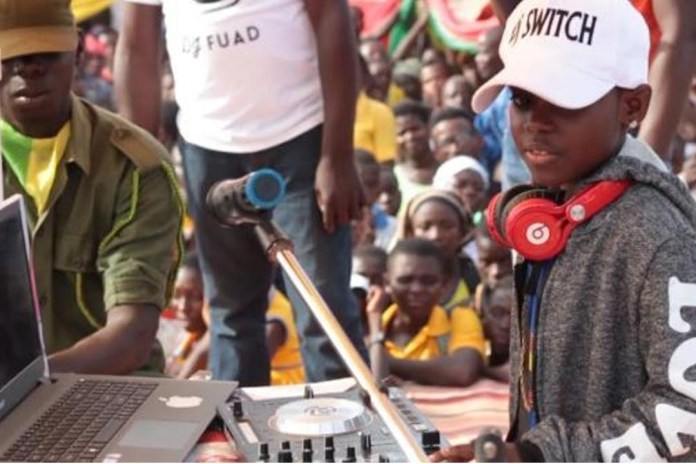 DJ Switch makes history as the youngest nominee for Ghana DJ Awards