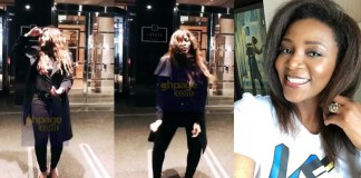 Video: Watch Nollywood Actress Genevieve Nnaji doing the 'Shaku Shaku' Dance Moves