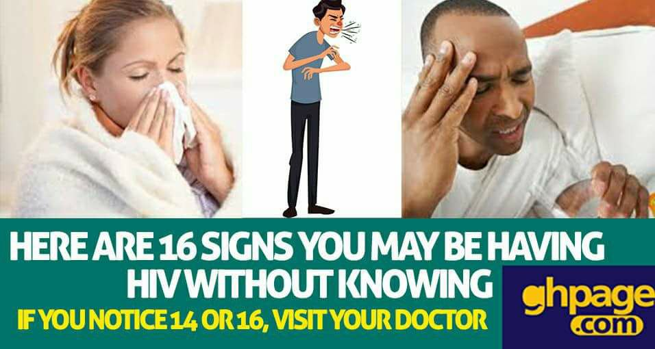 Here're 16 signs you may be having HIV without knowing - If