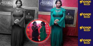 You need to see the amazing dress Maame Serwaa wore to the VGMA that has gotten everyone talking (Photos+Video)