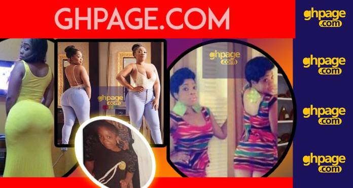 Maame Dokono Was Right: Moesha Boduong's Butt Is Artificial - Moesha's Friend Exposes Her [Video]