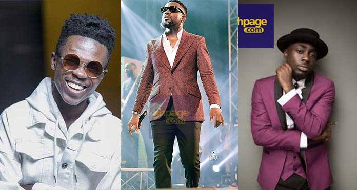 Sarkodie reunites Strongman and TeePhlow