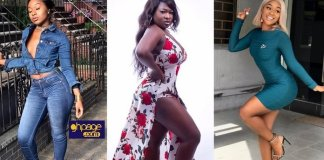 Battle Of The Slay Queens: Efia Odo And Sister Afia Clash Again - Jabs Each Other