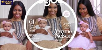 More Exclusive Photos Of Yvonne Nelson's Daughter Ryn as She Covers Agoo Magazine