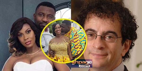 Former UK High Commissioner to Ghana, Jon Benjamin trolls John Dumelo on his wedding day