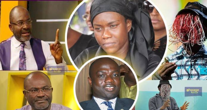 Anas has something doing with the late J.B Danquah's wife Ivy - Kennedy Agyapong