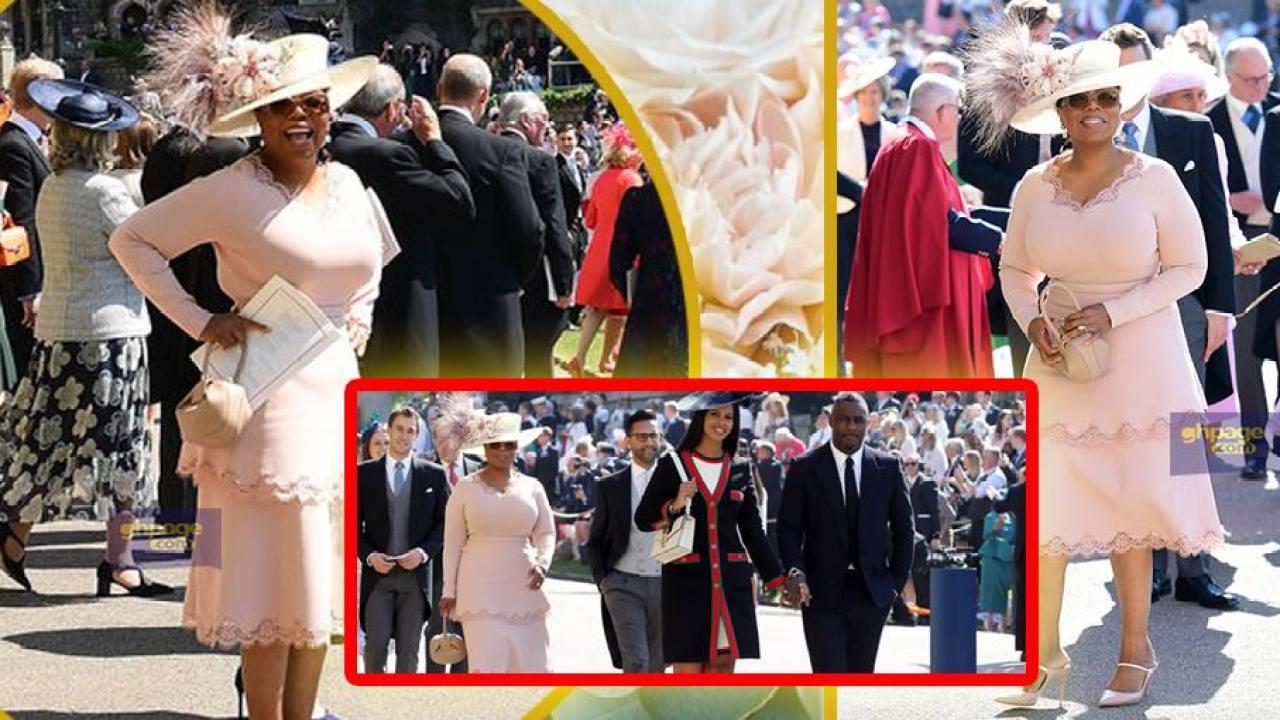 Oprah Winfrey Royal Wedding.World Richest Black Woman Oprah Winfrey S Look At The Royal